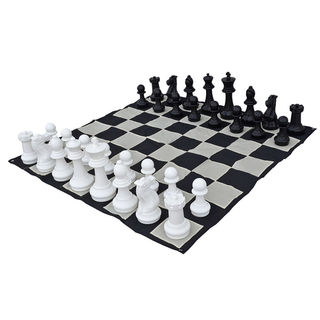 Garden Chess Set and Mat