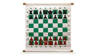 Magnetic Demo Board - 65cm (Red & Black pieces)