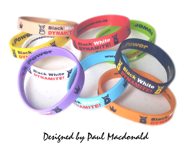 Chess Power Rating Wristbands™ Mix and Match